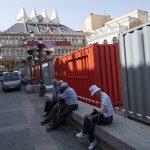 Ciudad Real: La Plaza Mayor se llena de contenedores