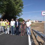 La Diputación dota a la pedanía de Valverde de accesos seguros y de una travesía «digna y accesible»