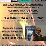 El INEI-UCLM celebra el próximo miércoles la llegada del hombre a la luna