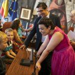 Caballero y Zamora destacan la generosidad de las familias que acogen a menores ucranianos