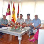 """Pilar Zamora agradece a los Amigos de Javier Segovia que sigan poniendo """"voz"""" a la tierra manchega"""
