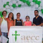 Pádel, aeróbic y mucha solidaridad a favor de la AECC almodovareña