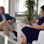 Pilar Zamora y Mariano León estrechan la colaboración entre el Ayuntamiento de Ciudad Real y la Cámara de Comercio