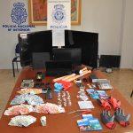 La Policía Nacional detiene a tres personas que traficaban con cocaína y heroína en Valdepeñas