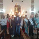 Miguel González Caballero acompaña a los vecinos de Cabezarados en la celebración de San Pantaleón