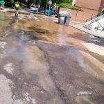La Comunidad de Propietarios de la Barriada de Pío XII reclama mejoras en la red de abastecimiento de agua