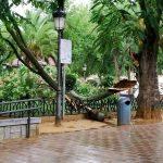 Impresionante tormenta en Ciudad Real