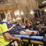 Ciudad Real: Ancianos y enfermos acuden a su cita anual de la Caravana Blanca con la patrona