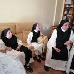 Evacuadas las seis monjas de un convento cercano al incendio declarado en Brihuega