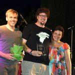 Daniel Martínez, Carlos Sánchez de Pablo y Daniel Rodríguez, Premios Juventud 2019