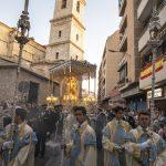 Ciudad Real: Miles de fieles participan en la procesión de la Octava