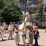 La pedanía de Peralvillo, de fiesta todo el fin de semana en honor a la Virgen Blanca