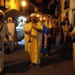 Almedina regresa a su pasado árabe en una noche mágica a la luz de las velas