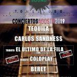 Dos tributos, a El Último de la Fila y Cold Play, completarán los conciertos de Feria con los ya anunciados Tequila, Carlos Sadness y Beret
