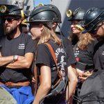 Once personas se encierran en la primera planta de minas de Almadén para reivindicar acciones urgentes para la comarca