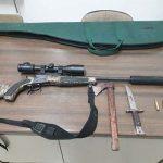 Sorprendido en Brazatortas un cazador furtivo que transportaba tres ciervos decapitados