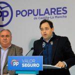 Núñez destaca la «importante» representación del PP de Castilla-La Mancha en las Comisiones del Congreso de los Diputados
