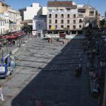 El Ayuntamiento de Ciudad Real sigue dándole vueltas a entoldar la Plaza Mayor