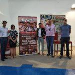 El Cid, Emilio De Justo y Carlos Aranda cartel para la feria taurina de Daimiel