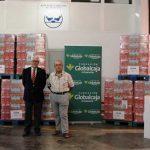 La Fundación Globalcaja entrega 6.000 litros de leche al Banco de Alimentos