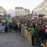 """La Alianza por el Clima congrega a cientos de personas en Ciudad Real: """"Estamos ante una verdadera emergencia y hay que creérselo ya"""""""