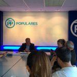 Cañizares presenta a afiliados y simpatizantes las enmiendas del Grupo Popular a las Ordenanzas Fiscales