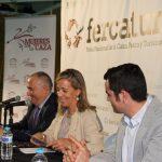 Merino en FERCATUR: «La mujer es el futuro de la actividad cinegética»