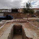 Ciudad Real: El Ayuntamiento recuerda que cada movimiento de tierra del aparcamiento de la calle Lirio está siendo supervisado por un arqueólogo