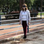 Ciudad Real: Un bastón blanco para concienciar sobre las dificultades de personas con discapacidad visual