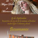 La Parroquia de San Antonio de Padua de Puertollano ultima los detalles para el besamanos de Nuestra Señora del Mayor Dolor