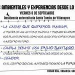 Las experiencias desde lo local frente a las crisis ambientales, objeto de una jornada en Ciudad Real