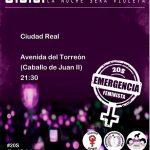 Diversos colectivos de Ciudad Real se suman a la 'emergencia feminista' y se manifestarán este viernes