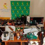 La Guardia Civil detiene a siete personas por varios robos cometidos en Daimiel, Porzuna, El Robledo, Horcajo  y Piedrabuena