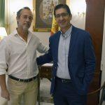 El alcalde de Poblete presenta en la Diputación el proyecto de un Centro de Formación, Ocio y Deporte