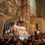 Puertollano: Sobresalto y  emotividad en la salida de la Macarena por su 50 aniversario