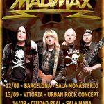 La Sala Nana descorcha la temporada de conciertos con Mad Max, un clásico del heavy rock