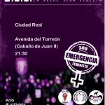 Ciudad Real se suma a la 'Emergencia Feminista' convocada para el próximo 20 de septiembre a nivel nacional