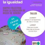 """Llega a Ciudad Real el proyecto  """"Redes para la Igualdad"""""""
