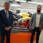 La moto campeona de Marc Márquez y realidad virtual, novedades de la muestra de Repsol Racing Tour en Puertollano