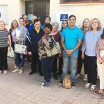 Puertollano: Encuentro del equipo de gobierno con técnicos y usuarios del Centro de Rehabilitación Psicosocial