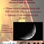 El Observatorio Astronómico de la UCLM celebrará el 5 de octubre el Día Internacional de Observación de la Luna con una jornada de puertas abiertas