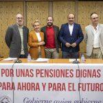 PP, PSOE, Cs y Unidas Podemos debaten sobre pensiones convocados por la Coordinadora de Ciudad Real