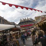 Artesanos y artistas evocan el pasado en una nueva edición del Mercado Medieval Alfonsí de Ciudad Real