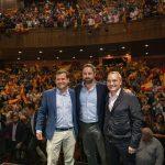 Abascal llama «trilero» a García Egea ante la insinuación del PP de un Pacto Vox-PSOE