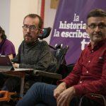 Echenique advierte de que «los derechos de la gente» solo estarán garantizados con una Unidas Podemos fuerte