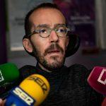 Echenique responde a Pastor que represión no es solución en Cataluña y recuerda que el 155 «agravó» el problema