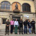 Puertollano: La Unidad Militar de Emergencias es recibida con gran expectación en el Colegio Salesiano