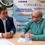 Alto Guadiana Mancha firma contrato con la empresa Prolicor SL de Daimiel para un proyecto, que supondrá una inversión cercana a los 300.000 euros