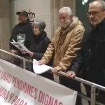 El balance electoral centra la concentración de la Coordinadora en defensa de las pensiones de este lunes