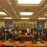 Afiliados de VOX de toda la provincia visitan el Congreso de los Diputados